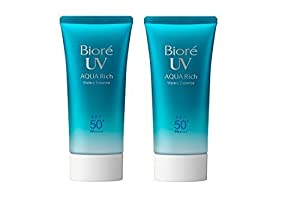 Biore UV Aqua Rich Watery Essence SPF50+/PA++++ 50g / 1.75oz ( set of 2 )