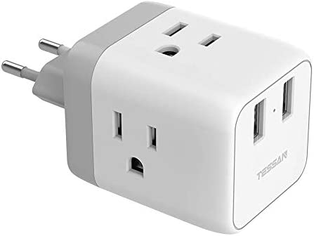 European Adapter TESSAN International Germany product image
