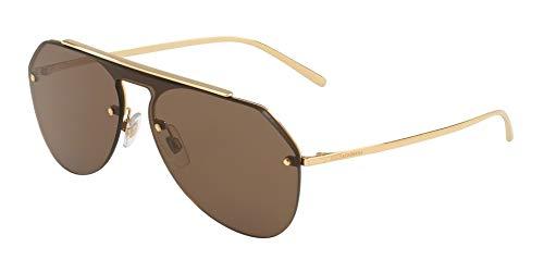 Dolce & Gabbana Men's DG2213 Gold/Brown One Size
