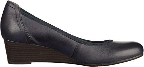 Women's Tamaris Blau Wedge 22320 Shoes qOnwYUX