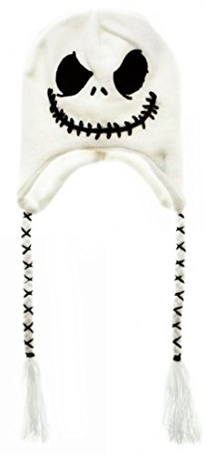 Nightmare Before Christmas Jack Skellington Character Laplander Hat