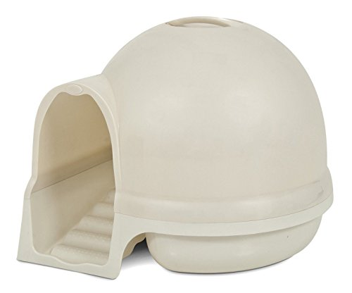 Destinie Booda Dome Cleanstep Cat Box, Pearl, Covered Litter Dome, New