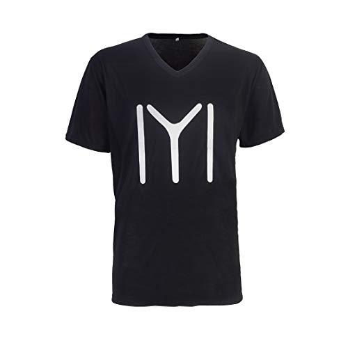 Ample Italia Solid Men's Round Neck ertugrul gazi Logo Printed t-Shirt (Medium) Black (B08CSL43WQ) Amazon Price History, Amazon Price Tracker