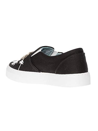 Cf1895black Chiara Bianco nero Ferragni Donna Slip Pelle On Sneakers qTnpR1xTw
