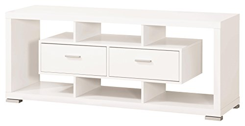 - Coaster Home Furnishings 2-drawer TV Console White