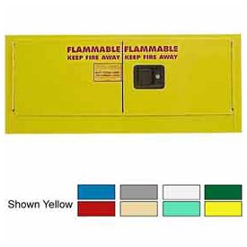 12-Gallon Self-Close, Stackable Flammable Cabinet ()