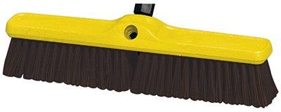 Rubbermaid 9B1500MARN 18 in. Plastic Foam Block Heavy Duty Floor Sweep (Sweep Heavy Block Floor Duty)