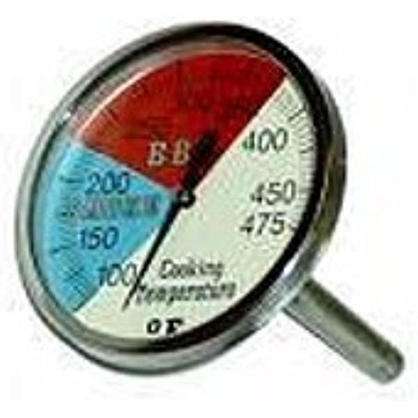 2 River Country Professional Series Adjustable Grill /& Smoker Thermostat Thermometer Gauge