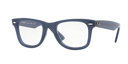 Ray-Ban Unisex RX4340V Wayfarer Eyeglasses Blue ()