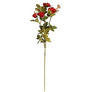 KNDDY Artificial Rose Flower Fake Silk Rose Flower Arrangements Bridal Bouquets for Wedding Decoration 103