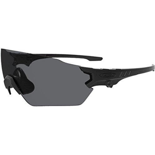 Oakley Men's Si Tombstone Spoil Oval Sunglasses, Matte Black, 39 - Glasses Oakley Shooting