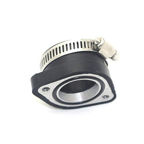 Peanutaod 28mm Vergaserflansch Einlassadapter Tragbare Manifold Boot Gummi Rohr Flansch F/ür Mikuni VM24 Manifold Intake Teil