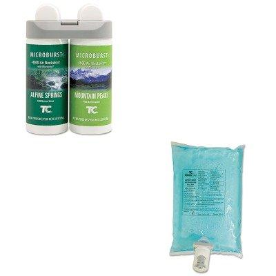 kitrcp3485950rcp750112 – Valueキット – Rubbermaid Microburst Duet Refills ( rcp3485950 )とRubbermaid AutoFoam Hand Soap Refill ( rcp750112 ) B00MOR9WLU
