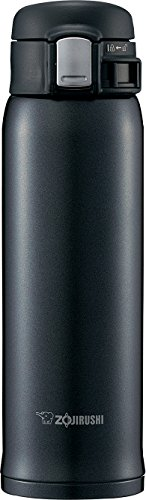 Zojirushi SM-SD48BC Stainless Steel Mug, 16-Ounce, Silky Black by Zojirushi
