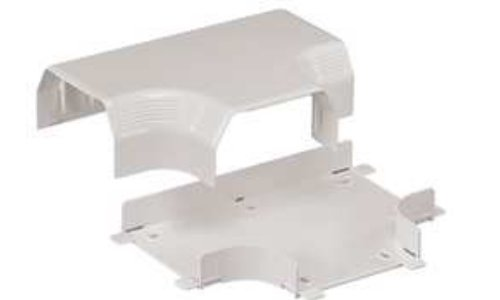Off White 944151 600 Voltage Panduit TGTIW Tee Fitting