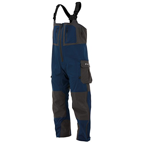 Slate Blue Full Leg - Frogg Toggs PF93160-7722MD Pilot Guide Bib, Dust Blue/Slate