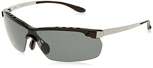 Native Eyewear Frisco Sun Glasses (Gray, Chrome/Iron) by Native Eyewear