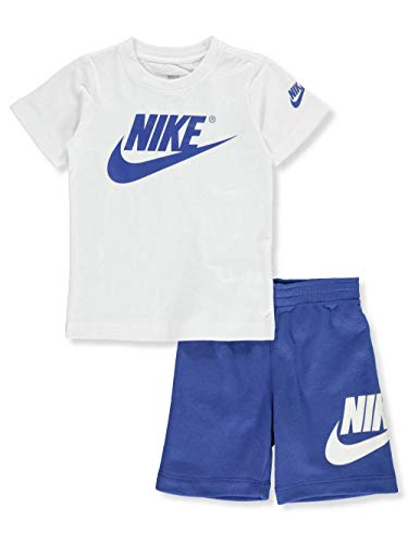 Nike Boys' 2-Piece Shorts Set Outfit - Game Royal, 6 Maroon