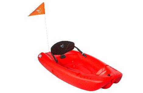 Stuff like that Red Pelican Solo 6 Feet Sit-On-Top Youth Kayak with Kayak Accessories, Paddle and Safety Flag and Backrest