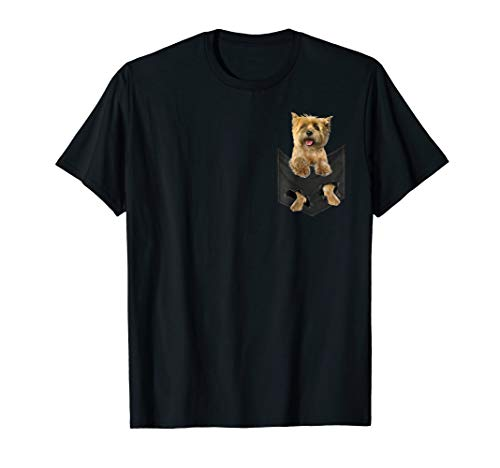 Dog in Your Pocket Cairn Terrier t shirt tee shirt