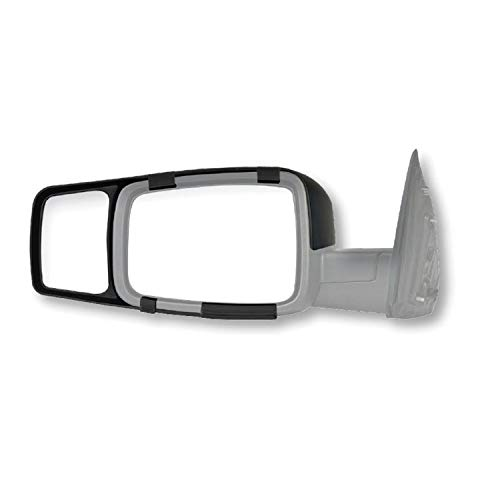 Mirrors Towing On Clip - Fit System Black K-Source 80710 Towing Mirror Ram 1500 2009-11