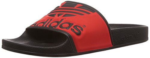 Black Plage Multicolore Black Adidas Originals core Adilette Trefoil Et red Adulte Piscine core Mixte O8x8vXH