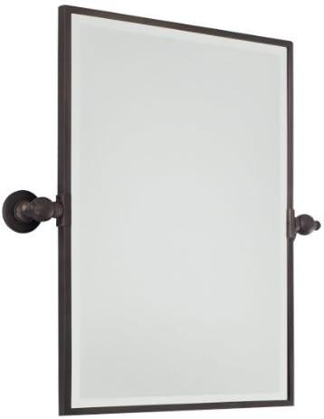 Minka Lavery Rectangular Bath Mirror Plated Finish
