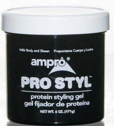 Ampro - Ampro Pro Style Protein Styling Gel - 6 oz (Cases of 12 Items)