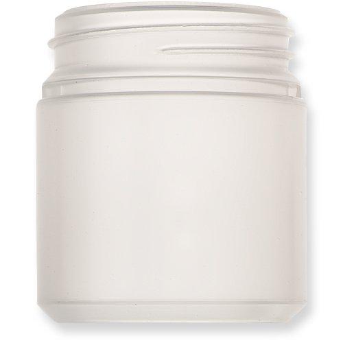 Qosina 99880 HDPE Wide Neck Jar, Round, 250mL Capacity (Pack of 25) by Qosina (Image #2)