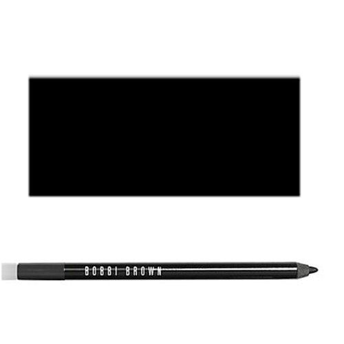 Bobbi Brown Long Wear Eye Pencil, No. 01 Jet, 0.045 Ounce (Best Long Wear Eyeliner Pencil)