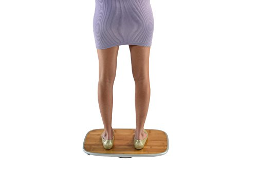BASE Balance & Stability Board. Active Standing Desk Wobble Platform Trainer for Home, Office, Rehab, Fitness. Full Range of Motion. Patented by Uncaged Ergonomics