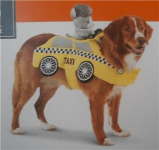Pet Costume - Taxi Driver (EXTRA (Taxi Costume)