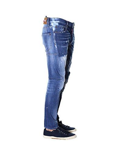 hombre Dsquared2 azul para Vaquero 48 aFq7Txa