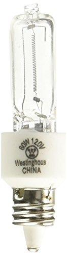 - Westinghouse Lighting 0625800, 60 Watt, 120 Volt Clear Incand T3 Light Bulb, 2000 Hour 960 Lumen