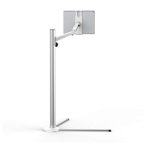 Cell Phone Flat Floor Bracket Lazy Three-Legged Display Stand 4-13-inch Sofa Stand Mount