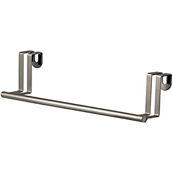 Spectrum Diversified Over The Door Towel Bar, Brushed Nickel