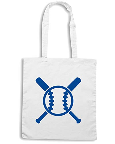 BATS Bianca Shirt AND Shopper Speed Borsa SP0006 BASEBALL qzBAOA