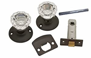 Belwith Products 1148-VB Bronze Pass Door Knob/Latch