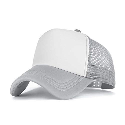 野球帽女性屋外野球帽通気性の男性の女性サマーメッシュキャップ野球帽キャップ,G1
