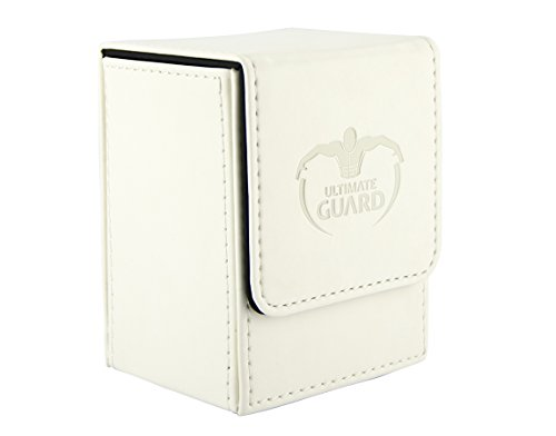 Max Protection Deck Box - Deck Box, Leather White