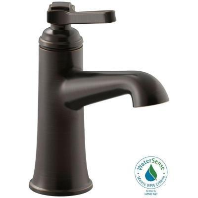 Kohler R99912-4D-2BZ Georgeson Single Handle Bathroom Sink Faucet ...