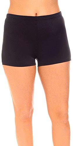 Aquabelle Women's Chlorine Resistant Xtra Life Lycra Boy Short 16 - Shorts Chlorine Resistant