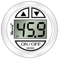 Faria 13150 Dress Depth Sounder with Transom Mounted