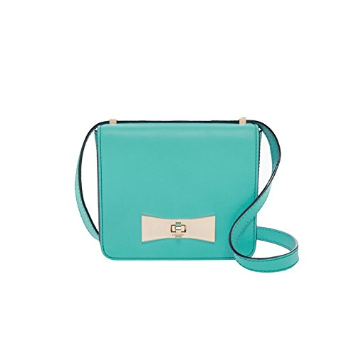 Kate Spade 2 Park Avenue Giverny Blue Darling Crossbody Handbag PXRU4761