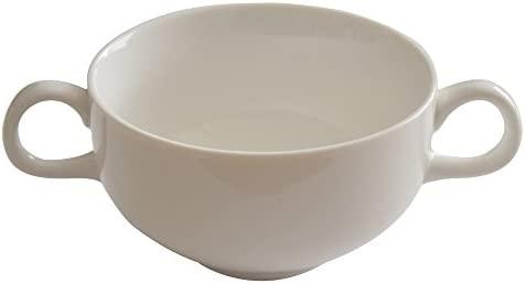 Vajilla Oriental (Outlet) doble mango taza de sopa blanco ...