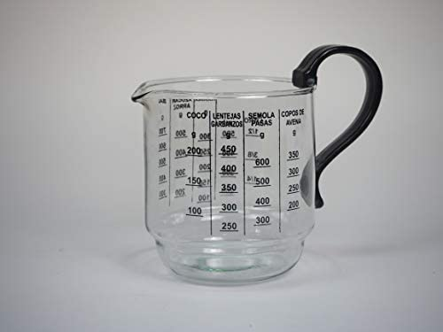 Sanfor 15057 Jarra medidora y microondas 0,75L, Vidrio ...