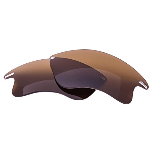 LenzFlip Oakley Fast Jacket XL Lens Replacement - Brown Polarized Lenses