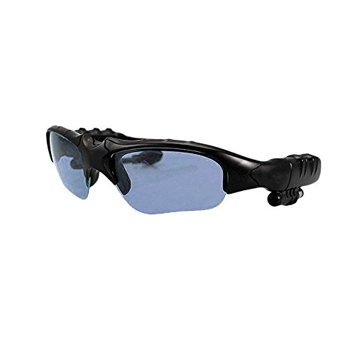 Multifunctional Polarized Sunglasses w/ Wireless Bluetooth Hi-Fi Stereo Headset Hands-free Speakerphone & Inbuilt - Polarized Should Sunglasses Be