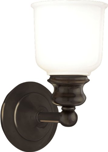 Hudson Valley Bath Sconce - Hudson Valley Lighting 2301-OB One Light Bath Bracket from The Riverton Collection, 1, Old Bronze