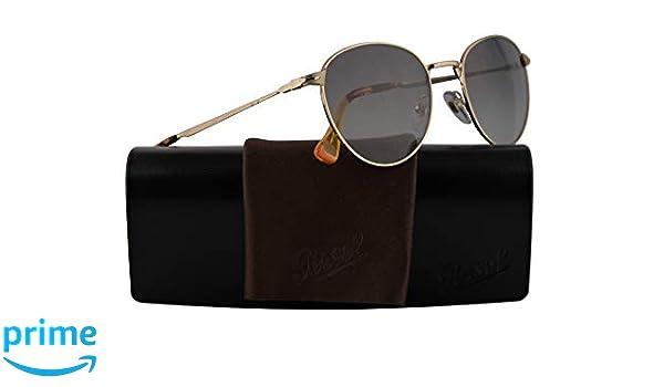 88660b9655c12 Amazon.com  Persol PO2445S Sunglasses Gold w Dark Grey Gradient Lens 52mm  107671 PO 2445-S PO2445-S PO 2445S  Clothing